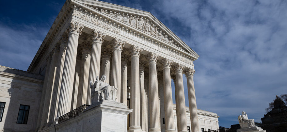 U.S. Supreme Court. Photo credit: Francis Chung/E&E News