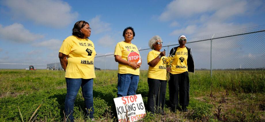 Formosa Plastics Plant Tests Joe Biden on Environmental Justice