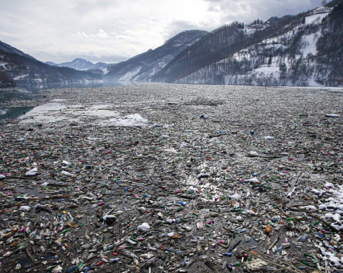 Pandemic demanded plastics, but not the recycled kind