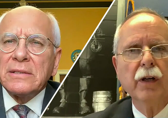 Reps. Paul Tonko (D-N.Y.) and David McKinley (R-W.Va.). Photo credit: Energy and Commerce Committee/YouTube