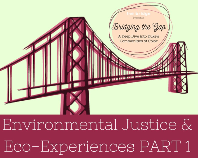 Transcript of Bridging the Gap Episode 3: Environmental Justice and Eco-Experiences, Part 1
