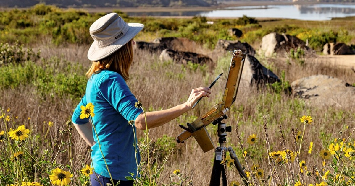 Around Town: Environmental Nature Center is venue for plein air painters' event