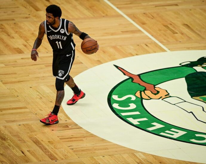 Kyrie Irving Calls Out 'Underlying Racism,' 'Human Zoo' Environment After Boston Fan Throws Water Bottle, Gets Arrested