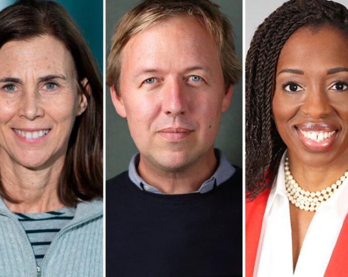 Dr. Jennifer Lippincott-Schwartz, Thomas Rivett-Carnac, and Dr. Ngozi Ezike