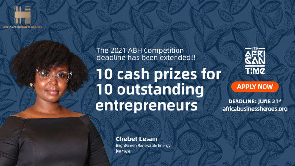 Africa's Business Heroes (ABH) Prize Expands Ecosystem of Partners and Extends Application Deadline