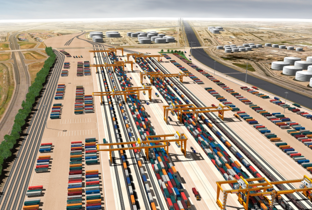 New environmental analysis revives controversial rail yard project • Long Beach Post News