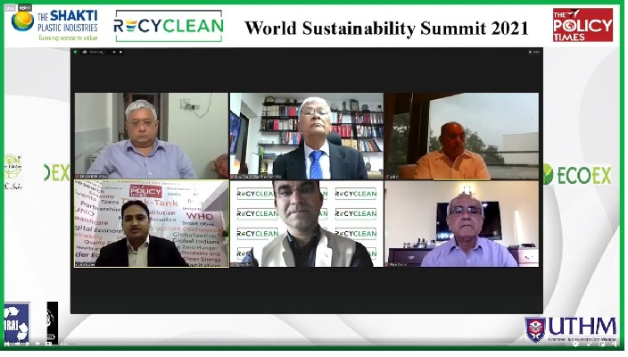 """""""People's narrative brings the change and reinstilling Indian traditional value could bring biggest change on climate action """"- VC, NITI Aayog at WSS 2021"""""""