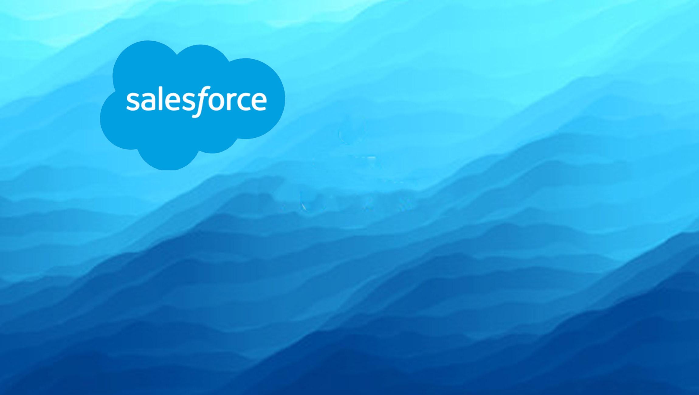 Salesforce Accelerates Ocean Sustainability Efforts