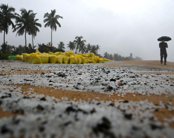 Ship Sinking Off Sri Lanka May Become A Lasting Disaster : NPR