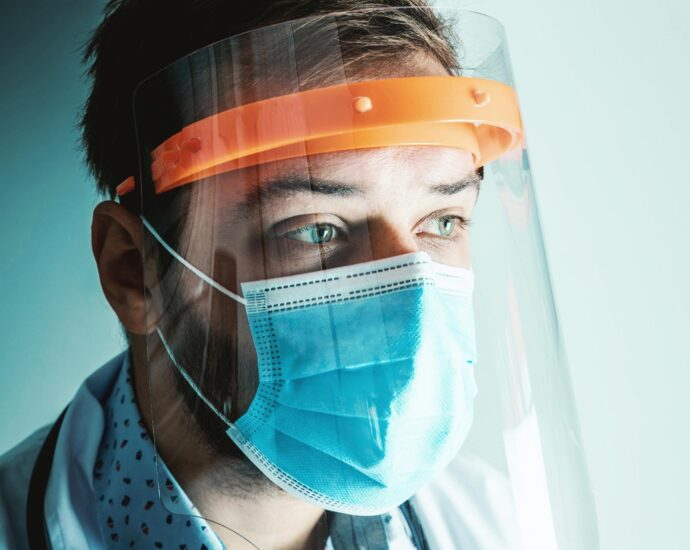 Face Shield and Surgical Mask