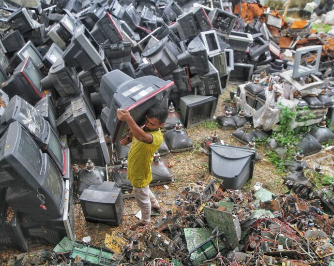 The environmental impact of electronics manufacturing