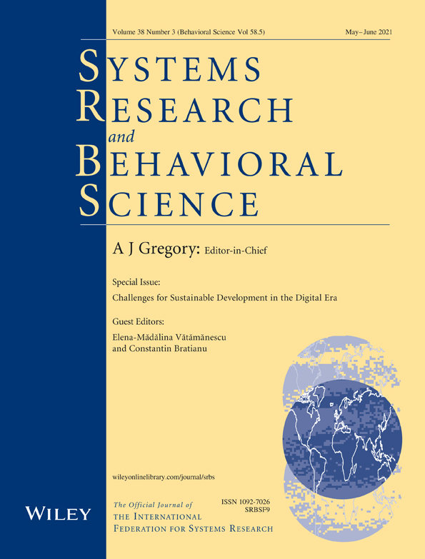 What a pandemic can say about human–environment relationship - Pettini - - Systems Research and Behavioral Science