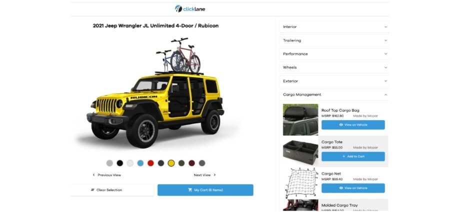 Asbury Automotive Group Enhances Clicklane with Addition of Accessories and Customization Platform Powered by Insignia Group
