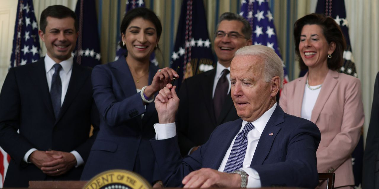 Biden's executive order targeting big business and competition: full text