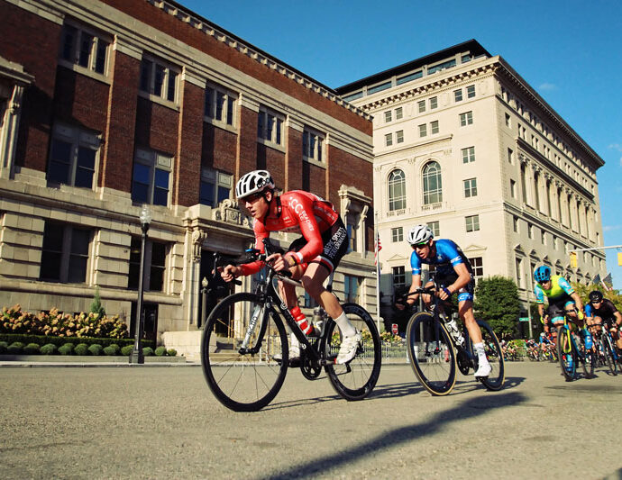 The Detroit Athletic Club is hosting the Detroit Cycling Championship on Aug. 21 on the streets of downtown Detroit . // Courtesy of DAC