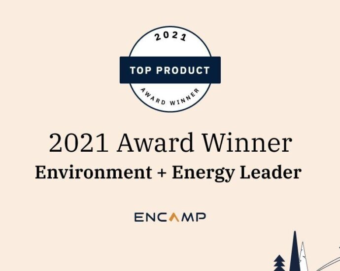 Encamp Garners Top Product of the Year Award from Environment + Energy Leader for 2021   Business