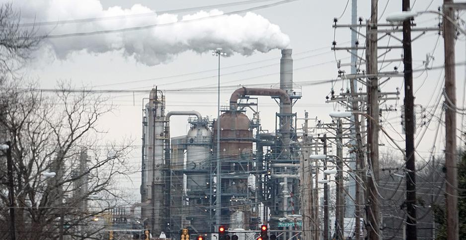 Valero Memphis Refinery. Photo credit: Karen Focht/ZUMAPRESS/Newscom