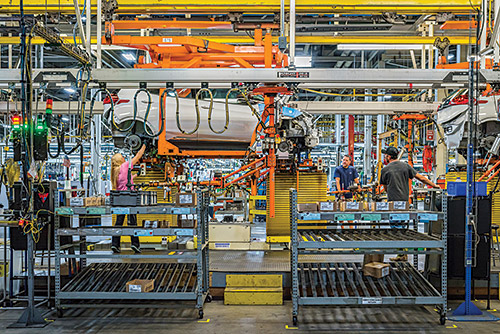 GM's assembly plant in Lake Orion, Michigan, currently builds the Chevrolet Bolt EV.