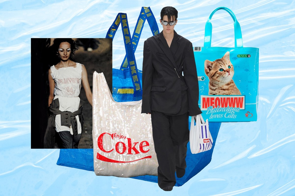 Plastic fantastic? Tracing fashion's obsession with the carrier bag