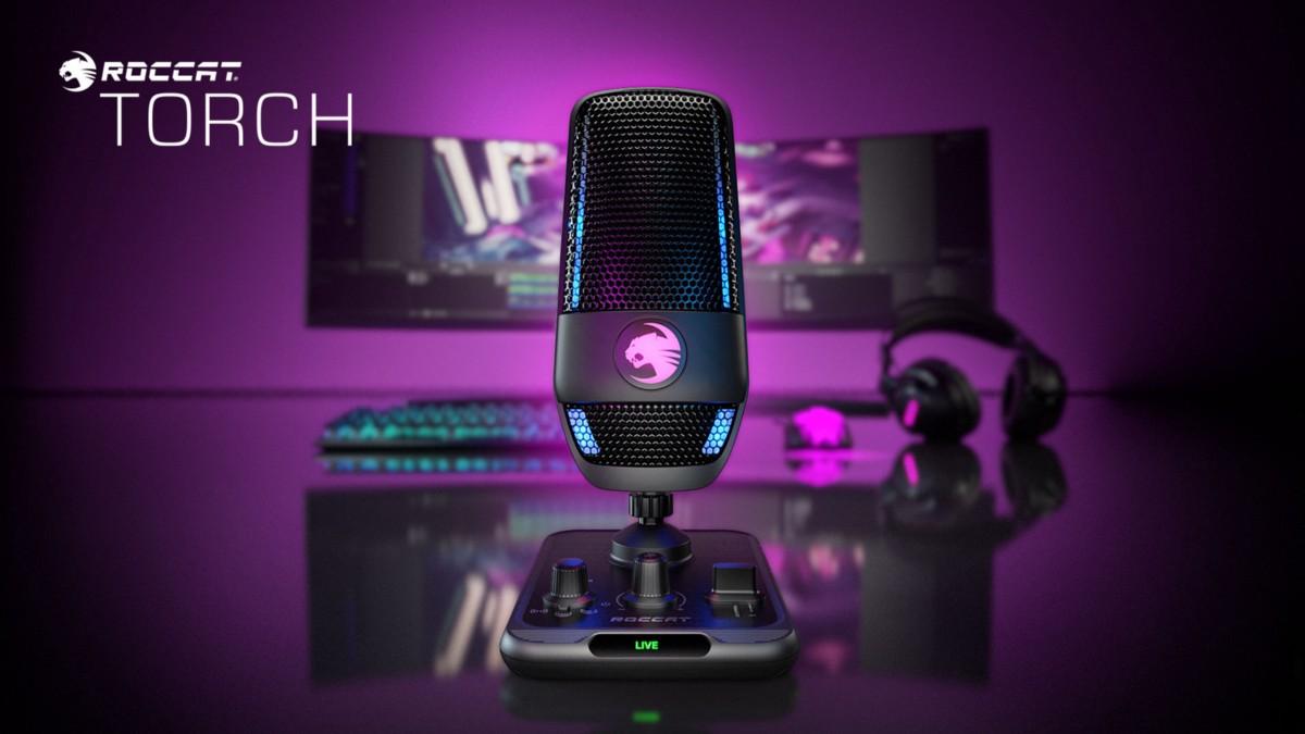 Roccat Announces Torch USB Microphone | by Alex Rowe | Jul, 2021