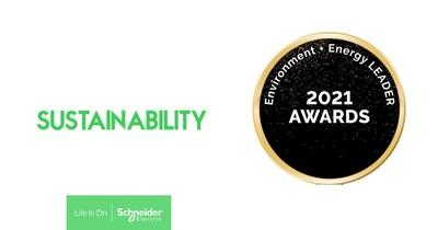 Schneider Electric Earns Top Project of the Year Award from Environment + Energy Leader for Supply Chain Initiative