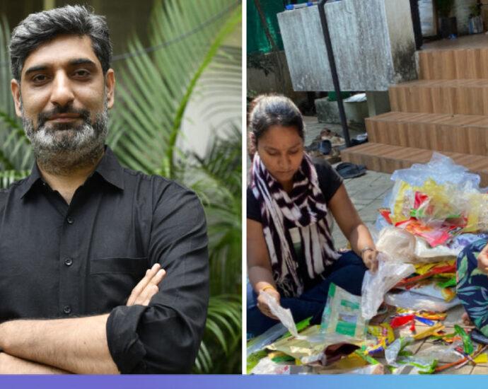 This Social Enterprise Transforms Waste Plastic Into Fabric Using Charkha
