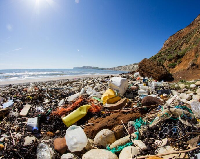 Why experts believe the plastic in our oceans may have changed the planet forever