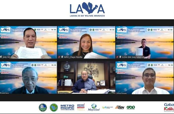 MPIC and Maynilad partner with LLDA on protection of Laguna de Bay