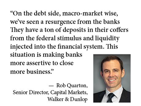Quarton Walker Dunlop bank lender