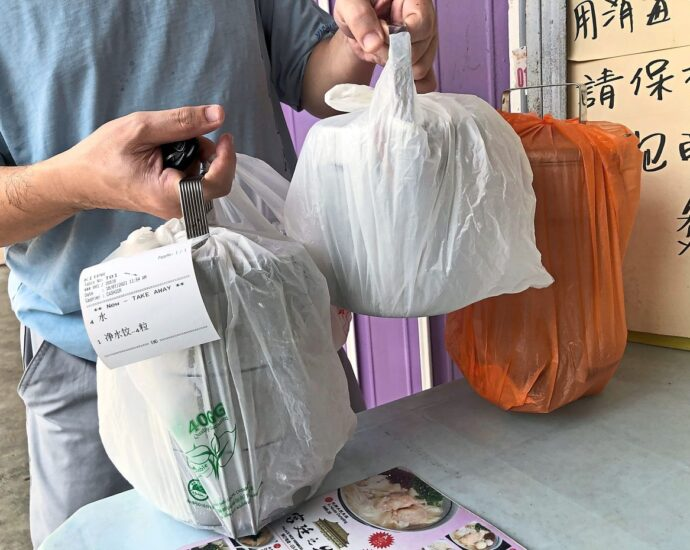 Worrying rise in use of plastics