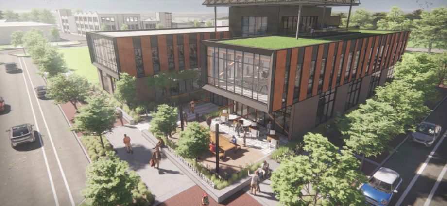 """""""$3.5 Million EDA Grant for Trades District Tech Center Advances Multi-Year Collaboration of City, BEDC, Regional and State Partners"""" – The Bloomingtonian"""