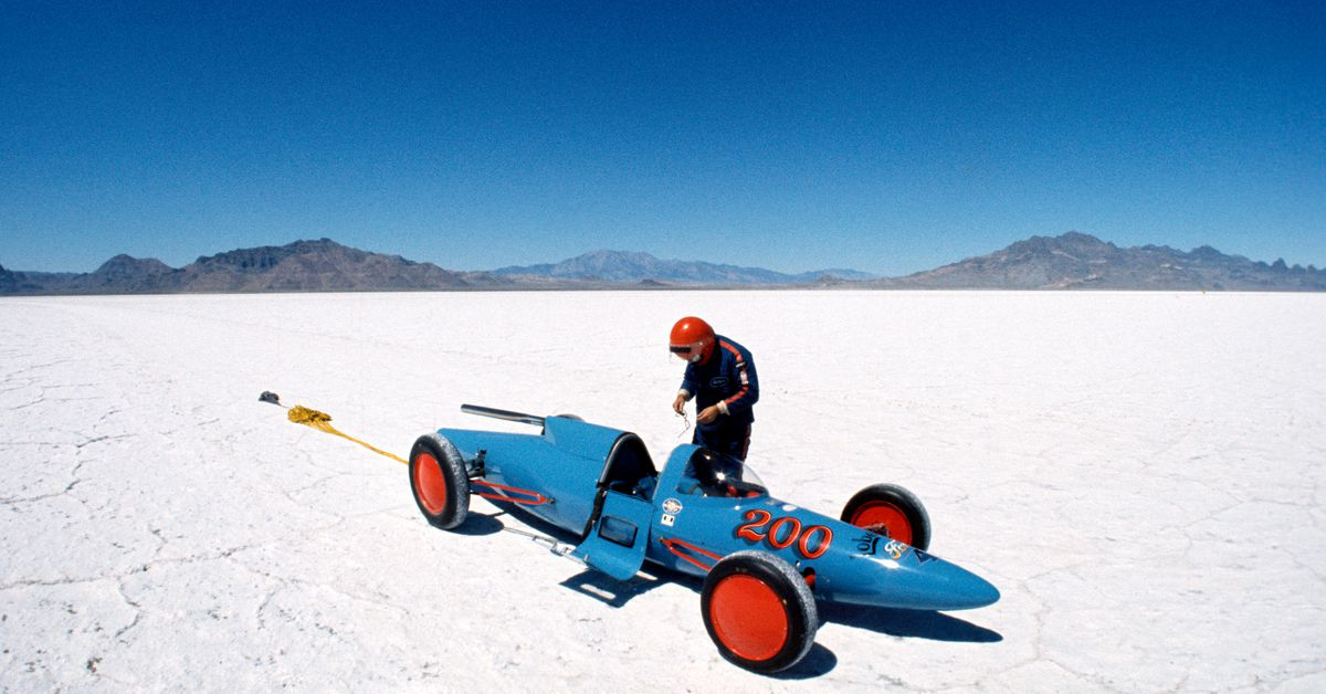 Bonneville Salt Flats racing in jeopardy as environment changes