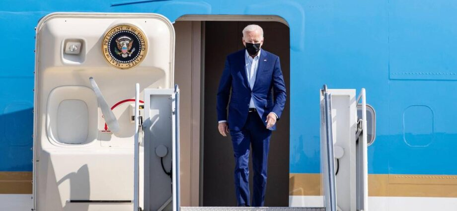 'Serious global warming problem': President Biden visits Boise as wildfires ravage West