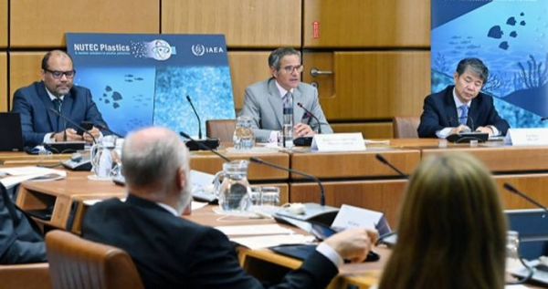 Ministers from countries in Africa discuss nuclear solutions to address plastic pollution
