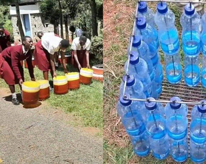 Moi Kapsowar: School Girls Saving Environment by Converting Plastic Waste into Beautiful Merchandise ▷ Kenya News