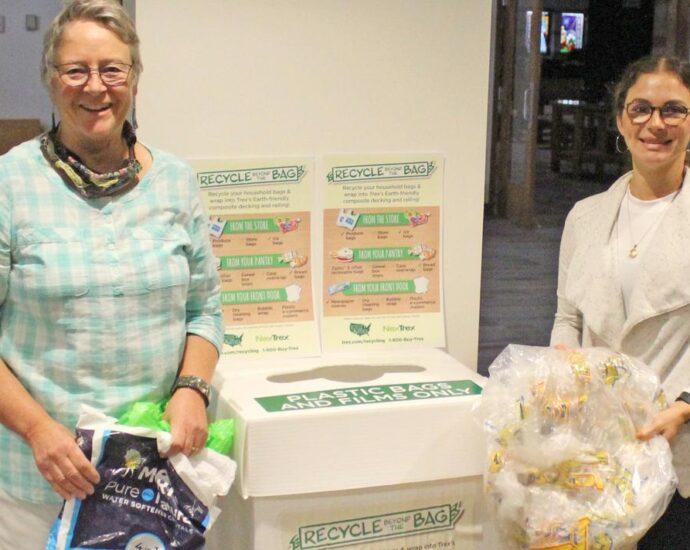 Park Rapids Lions join plastic film recycling project