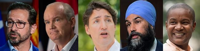 Trudeau, Blanchet clash as leaders spar on health care, environment in French debate