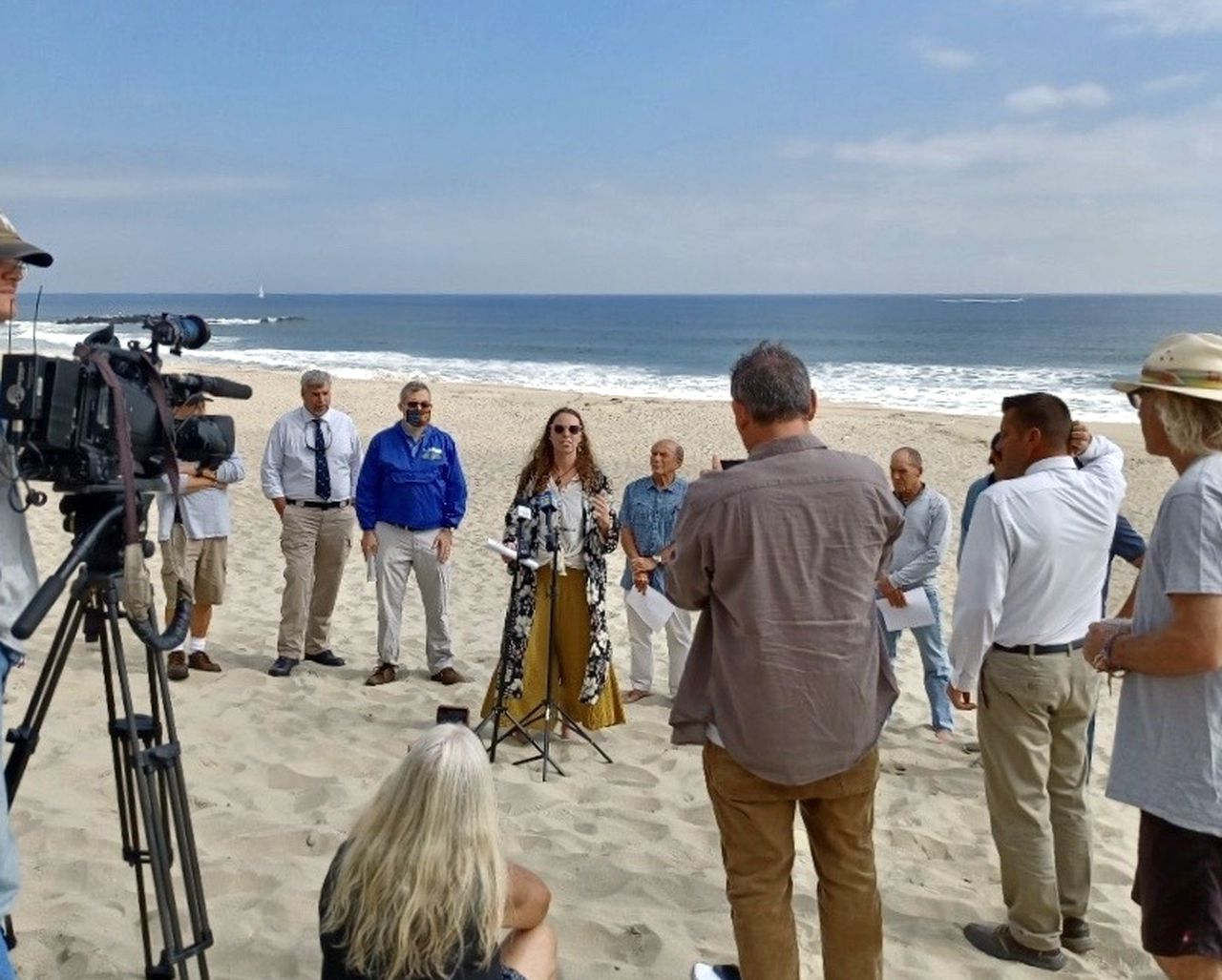 Coalition forms to fight beach replenishment