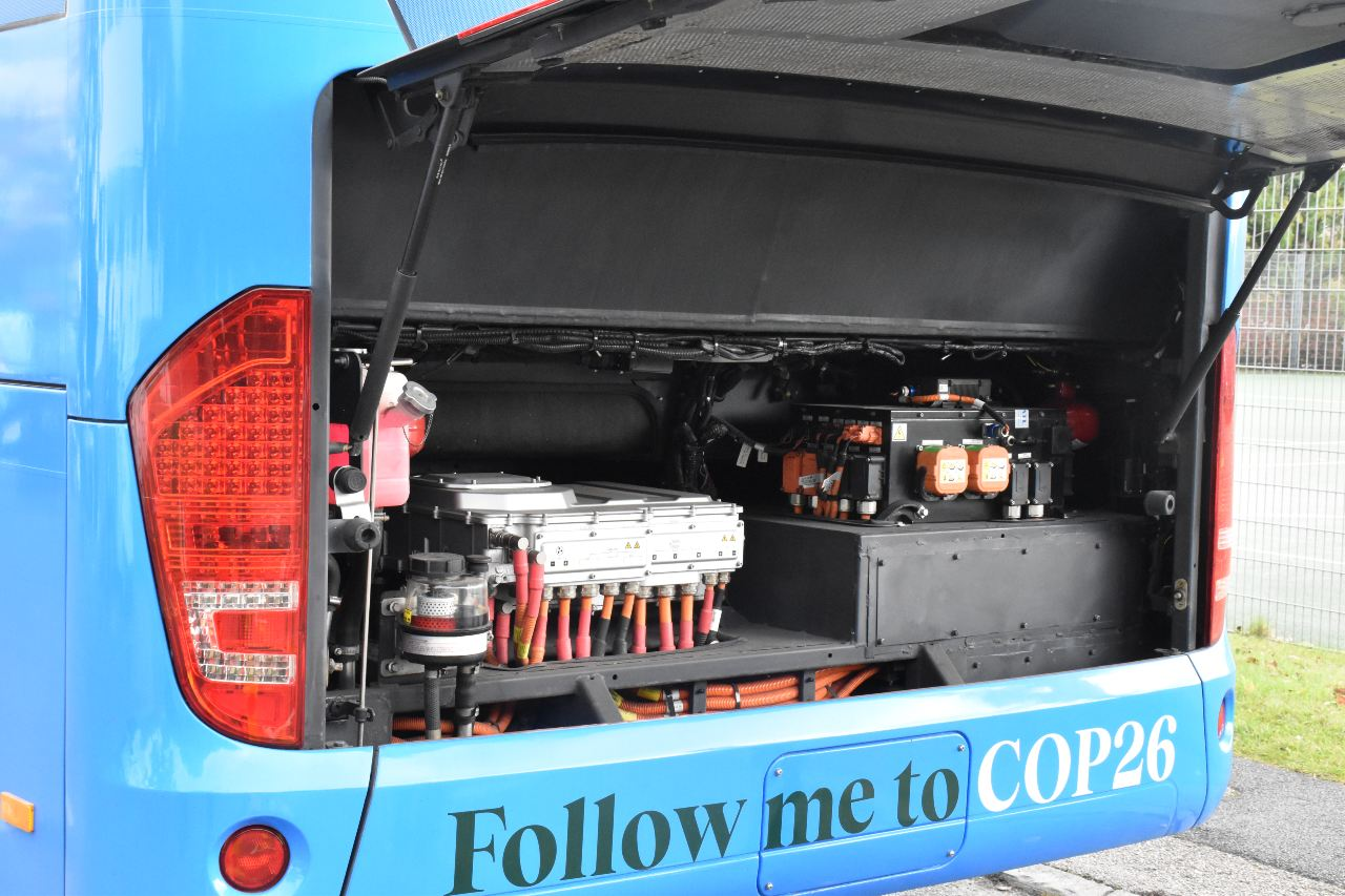 Electric battle bus to highlight Lancaster carbon cutting at global summit