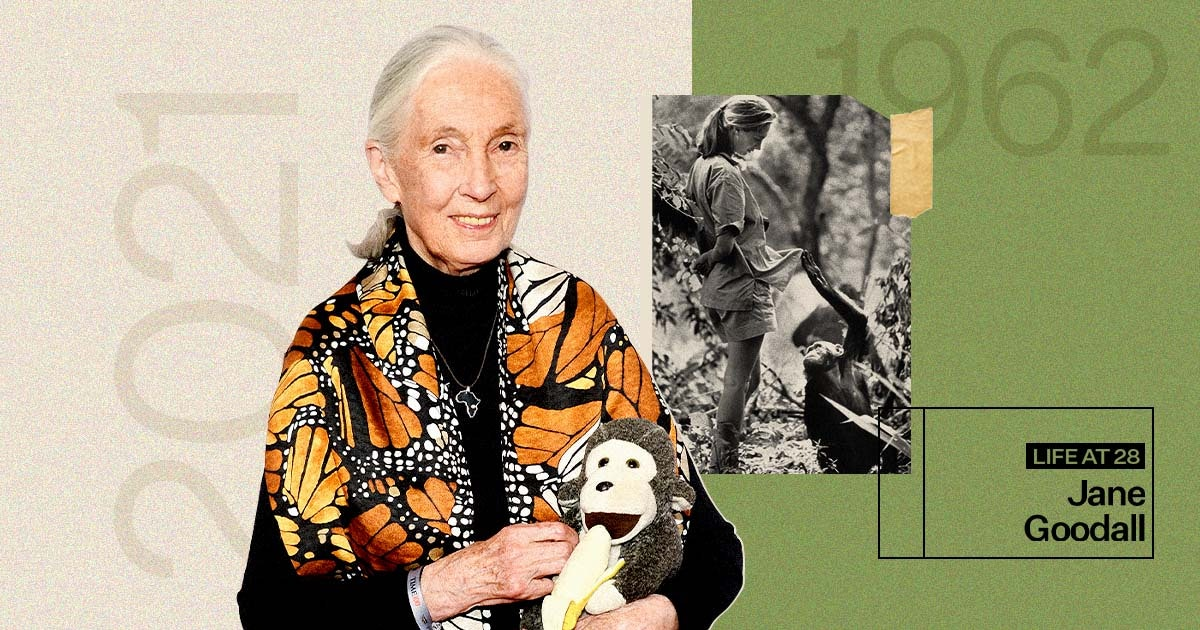 Jane Goodall On Being Young, The Natural Environment, & WWII