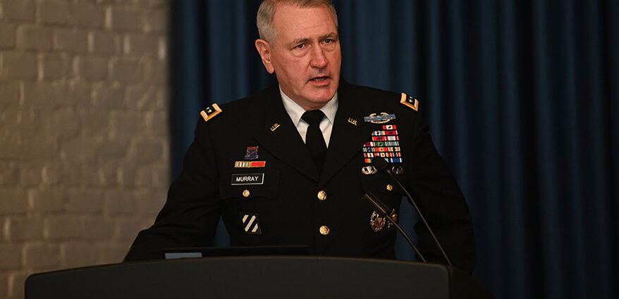 Q&A with Gen. Murray, Leader of Army Futures Command